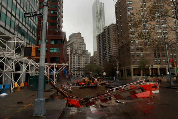 NYC ATMs Taken Down By Storm Damage