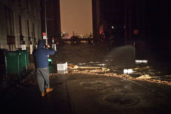 Hurricane Sandy New York City Power Outage Map: Thousands Without