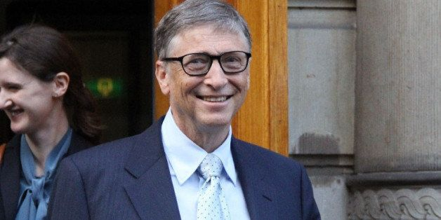 THE HAGUE, NETHERLANDS - NOVEMBER 13 :  Bill Gates, Microsoft co-founder and Chairman of the Bill and Melinda Gates foundatio