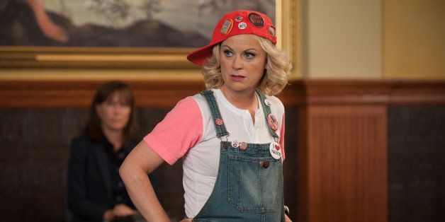 PARKS AND RECREATION -- 'Filibuster' Episode 605 -- Pictured: Amy Poehler as Leslie Knope -- (Photo by: Colleen Hayes/NBC/NBC