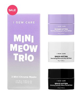 "Normally $20, <a href=""https://www.ulta.com/i-dew-care-mini-meow-trio?productId=xlsImpprod17762065"" target=""_blank"">on sale f"