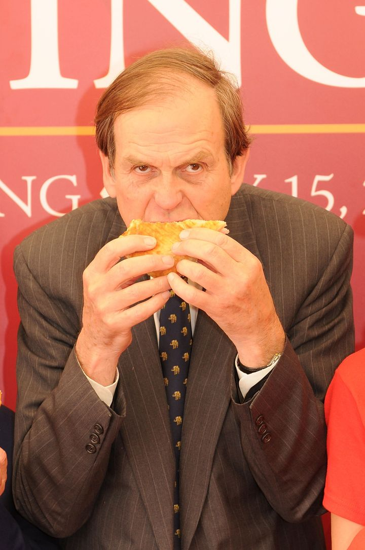 Montagu attends the Earl of Sandwich restaurant launch at Disneyland Paris in 2010.