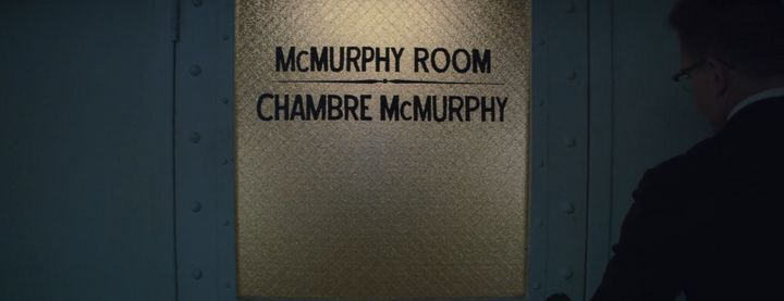 Owen and Annie briefly enter the McMurphy room in one of their dreams in Episode 9.