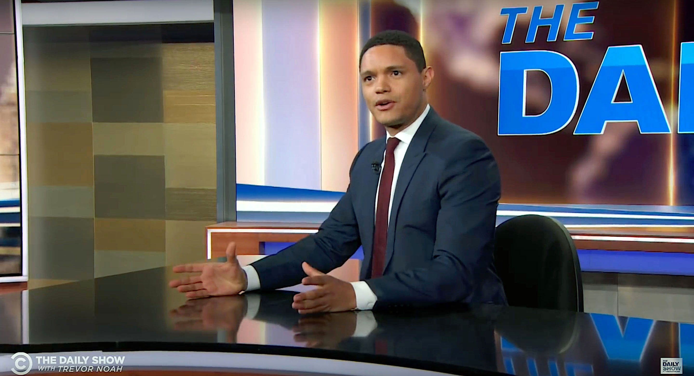 Trevor Noah discusses President Donald Trumps news conference