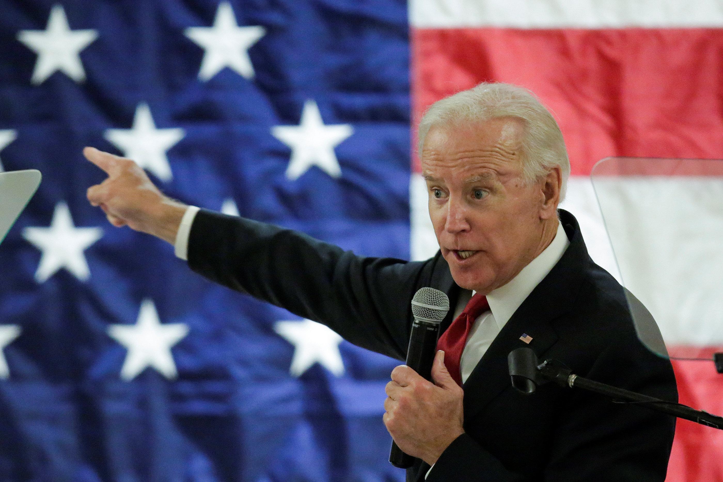 """조 바이든: """"민주당이 의회 다수를 차지하면 공화당이 트럼프로부터 자유로워질 것"""""""