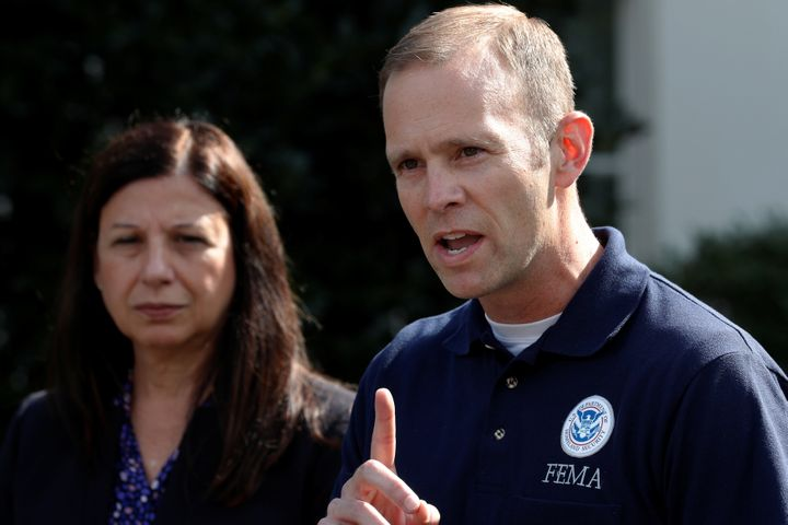 Embattled FEMA chief Brock Long is leaving the agency.