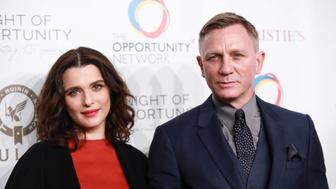 NEW YORK, NY - APRIL 9: Rachel Weisz and Daniel Craig attend The Opportunity Network's 11th Annual Night of Opportunity Gala at Cipriani Wall Street on April 9, 2018 in New York City. (Photo by Gonzalo Marroquin/Patrick McMullan via Getty Images) *** Local Caption *** Rachel Weisz;Daniel Craig