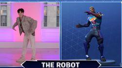 방탄소년단이 미국 토크쇼에서 선보인 춤 동작