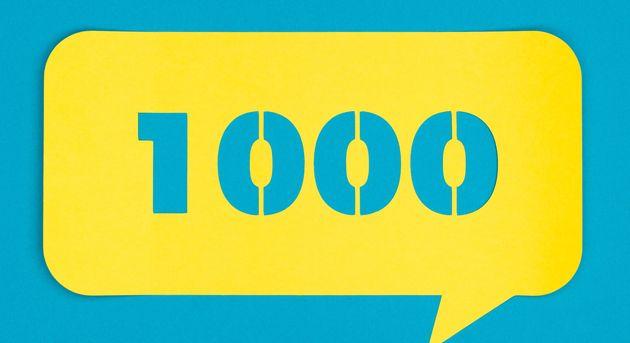1000일 연속 착한 일을 한 놀라운