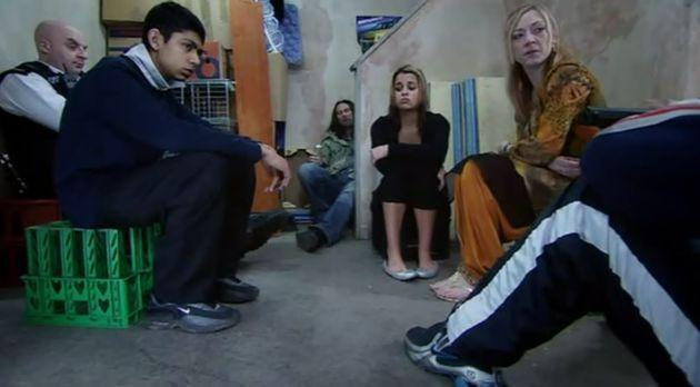 Sarah as Meena in