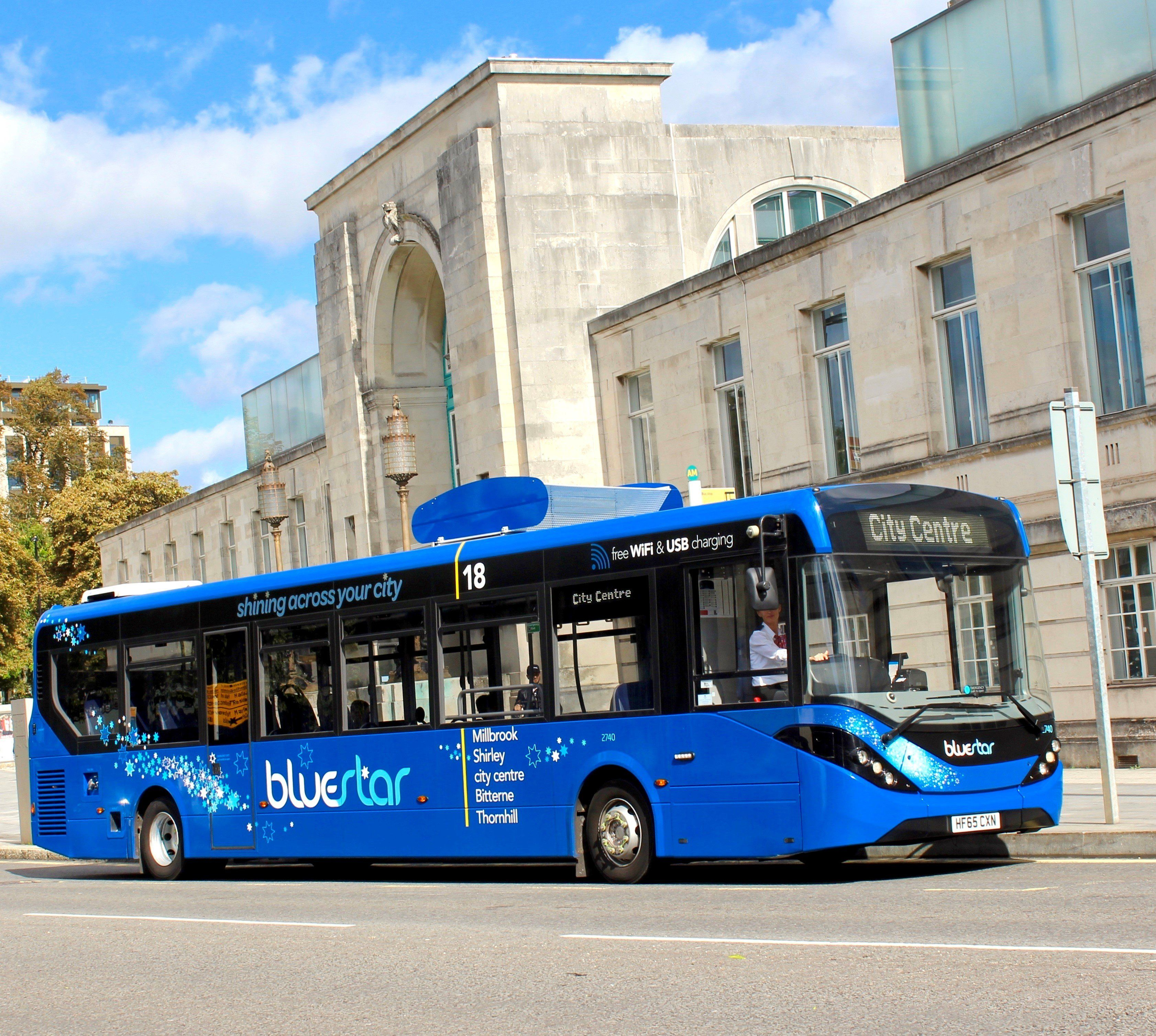 UK's First Air Filtering Bus Launches In