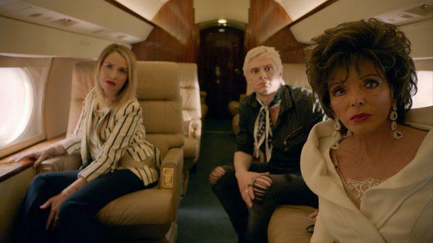 Joan Collins makes her 'AHS' debut alongside returning stars Leslie Grossman and Evan Peters