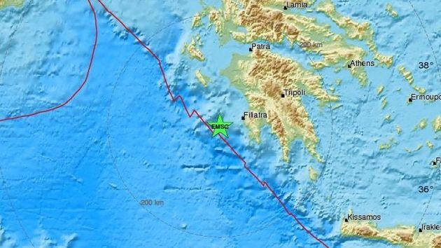 Σεισμός 5 ρίχτερ στην Πύλο, αισθητός σε Ηλεία, Μεσσηνία και