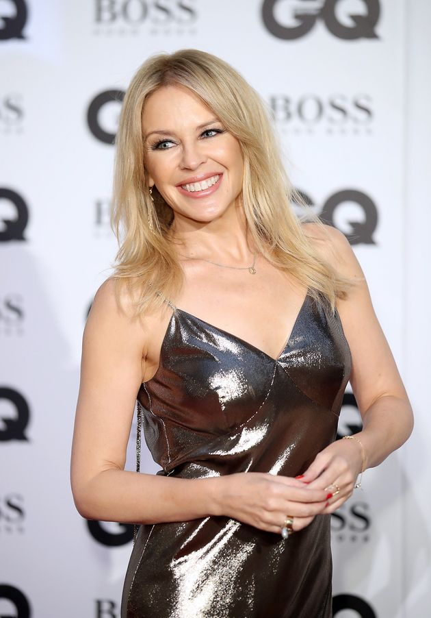 Kylie Minogue Puts Her 'Locomotion' Skills To Good Use As
