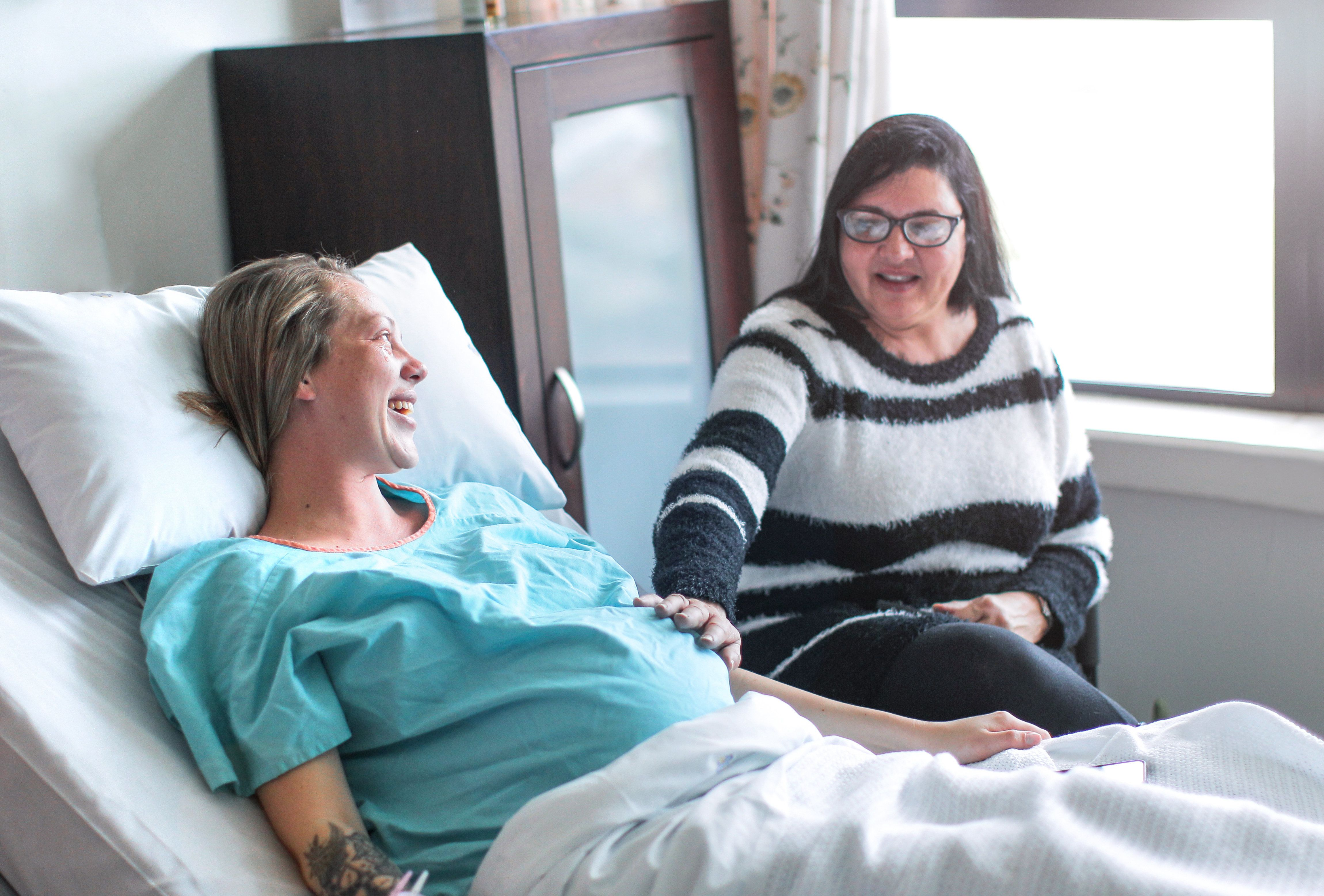 Would You Want Your Mother-In-Law In The Delivery Room? Women Share Who Was By Their Side And