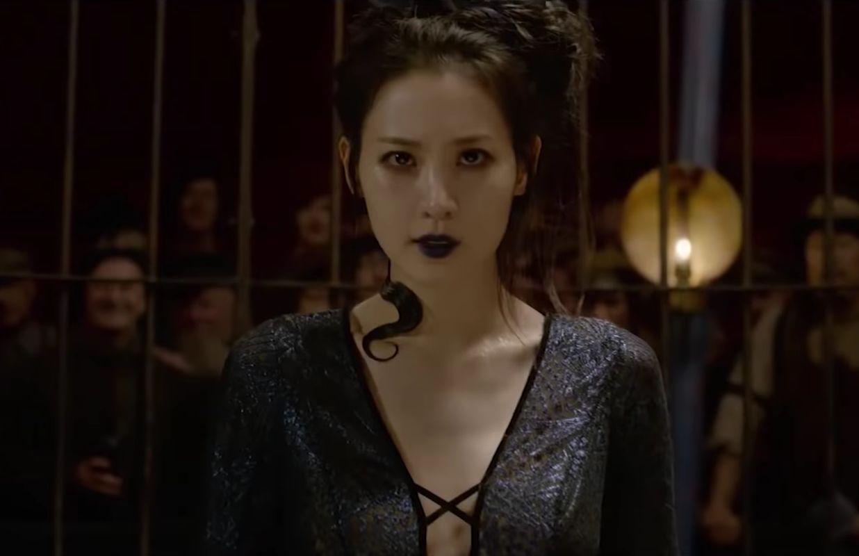 Claudia Kim as Nagini in the