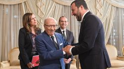 Le très controversé ministre de l'Intérieur italien Matteo Salvini calme le jeu en