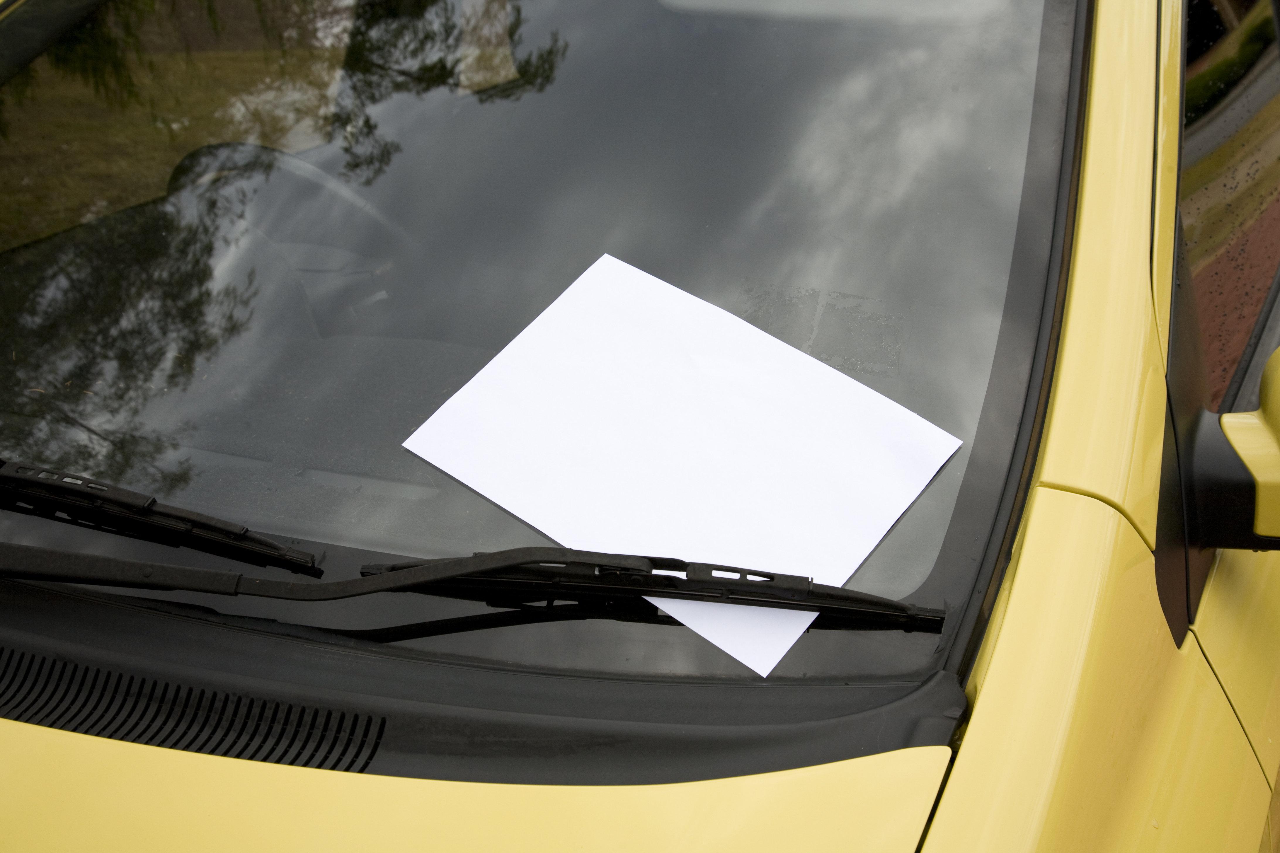 Bei dieser fiesen Botschaft an einen Autofahrer wird euch sicherlich