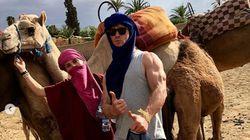 La star de Marvel, Chris Hemsworth, en vacances en famille à