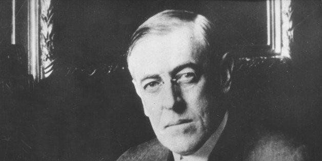 Thomas Woodrow Wilson, Washington - US-amerikanischer Praesident des Ersten Weltkrieges. (AP-Photo)