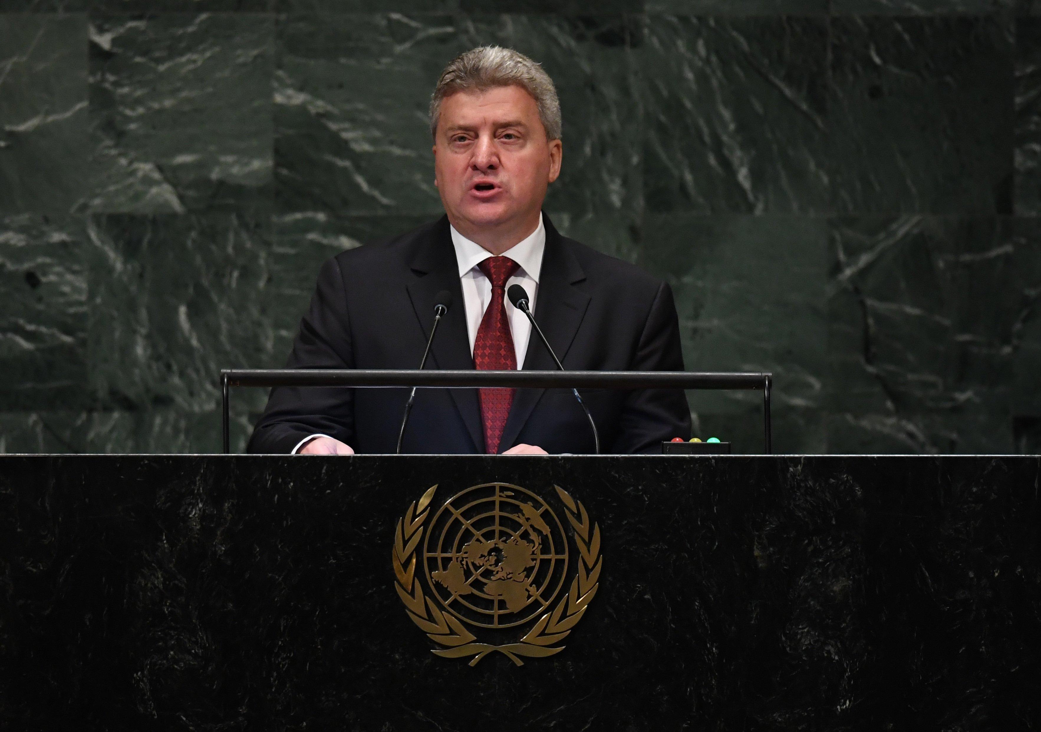 Ο Ιβάνοφ ζητά από του πολίτες της πΓΔΜ να μποϊκοτάρουν το