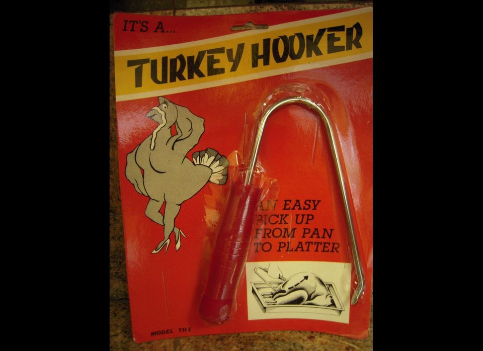 Unfortunately this is safer than the traditional way a turkey's body is sold for money. But either way you look at it, she's