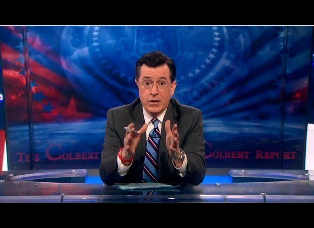 Stephen Colbert opened his first show back after a short hiatus by addressing his absence from the national conversation. [<a