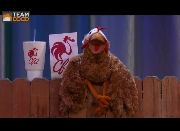 After The Muppets severed their ties with Chick-fil-A, Conan O'Brien presented a new puppet mascot, who's been so popular tha