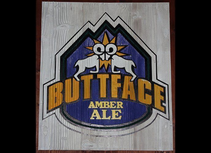 "Only drink this if you don't mind saying ""I'll have a Butt Face"" all night long. (via <a href=""http://www.greatclubs.com/beer"