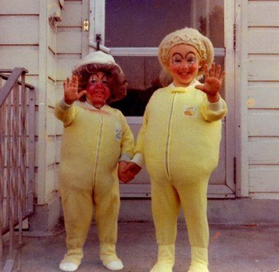Vintage Halloween Costumes Are Unintentionally Terrifying (PHOTOS)