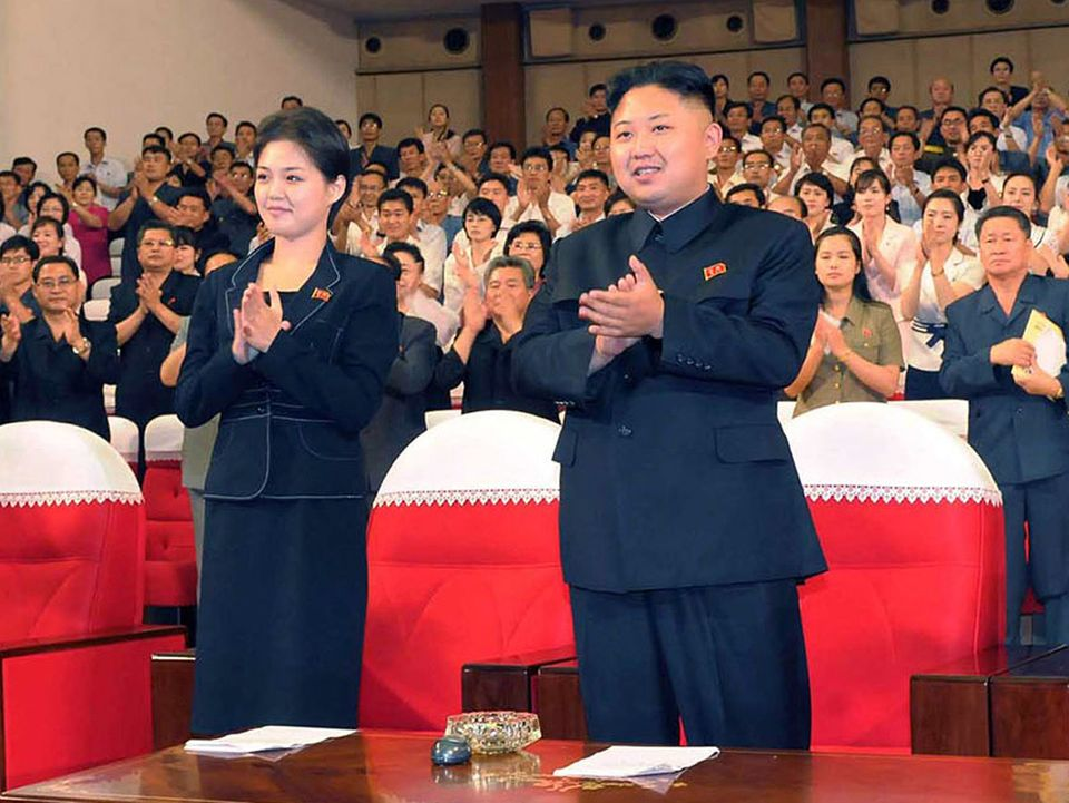 This file picture taken on July 6, 2012 by North Korean official Korean Central News Agency and released on July 9 shows Nort