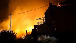 Πυρκαγιές στην Κεφαλονιά. Εκκενώθηκε