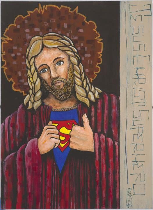To a lot of people, jesus is a superhero.