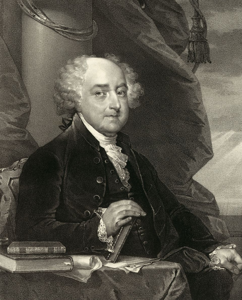 John Adams, second president of the United States, was in fact the first bald president. However, bald was considered an insu