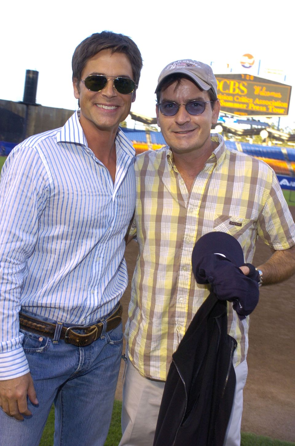 Charlie Sheen and Rob Lowe go way back. In fact, the two went to high school together alongside Emilio Estevez, Sean Penn, Ch