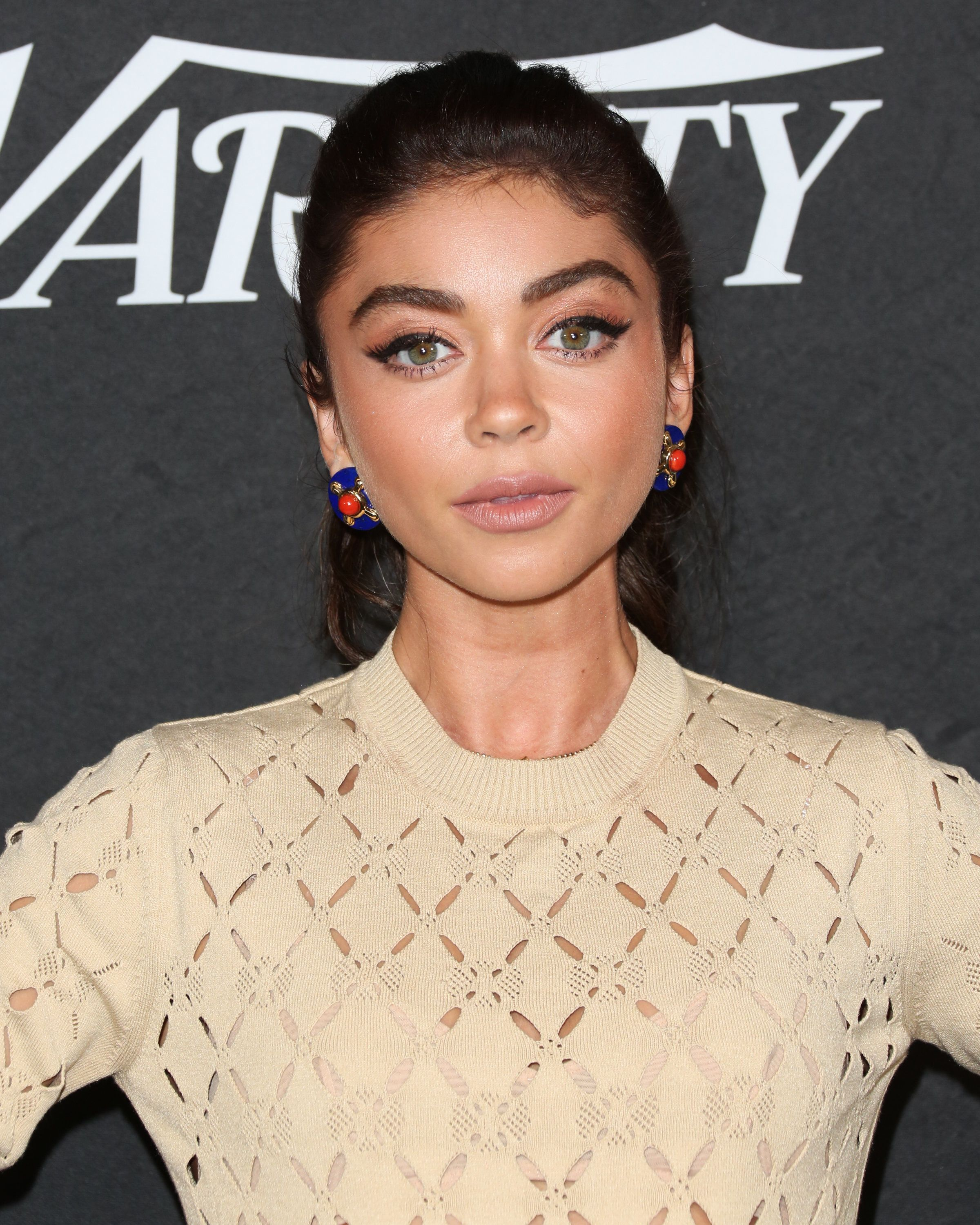 WEST HOLLYWOOD, CA - AUGUST 28:  Actress Sarah Hyland attends Variety's annual Power Of Young Hollywood at The Sunset Tower Hotel on August 28, 2018 in West Hollywood, California.  (Photo by Paul Archuleta/FilmMagic)