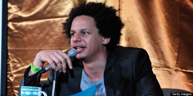 LOS ANGELES, CA - MAY 31:  Actor Eric Andre performs at the 'The Eric Andre Show Live!' presented by Adult Swim and IHEARTCOM