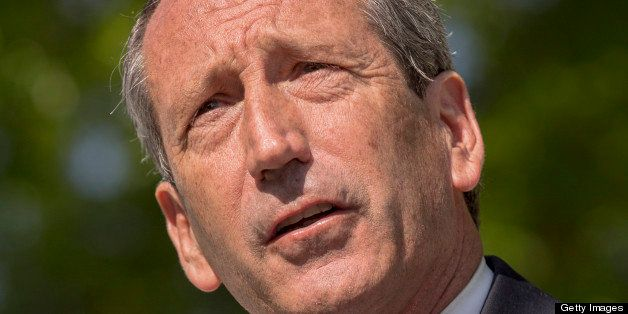 CHARLESTON, SC - APRIL 24: Former South Carolina Governor Mark Sanford speaks during a campaign event on April 24, 2013 in Ch