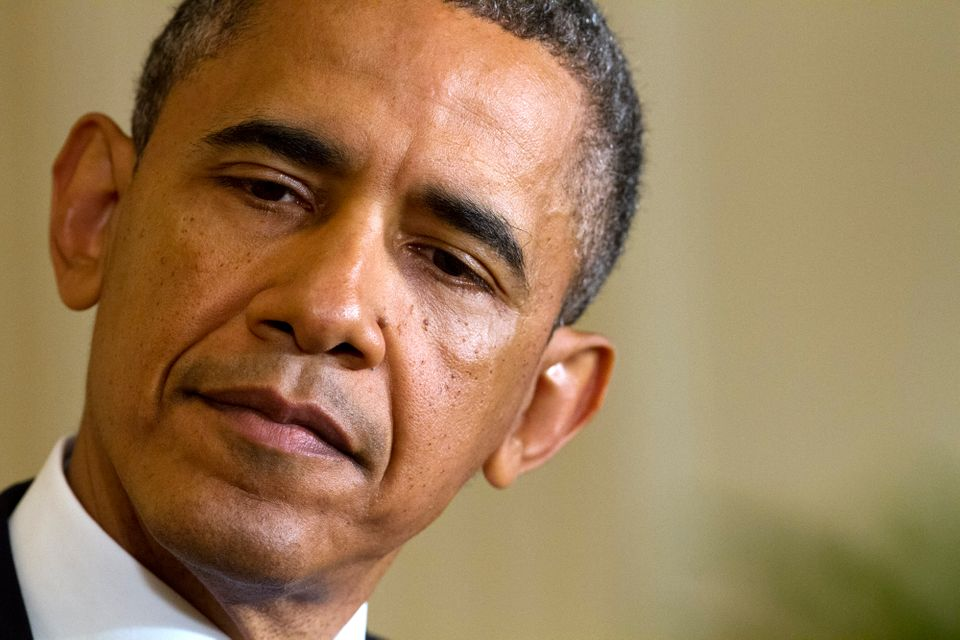 """This is pretty straightforward,"" Obama said at a <a href=""https://www.huffpost.com/entry/obama-irs-scandal_n_3266577"" target"