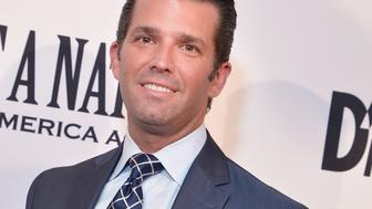 WASHINGTON, DC - AUGUST 01:  Donald Trump, Jr. attends the DC premiere of the film, 'Death of a Nation,' at E Street Cinema on August 1, 2018 in Washington, DC.  (Photo by Shannon Finney/Getty Images)