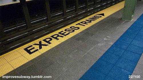 "A blog dedicated to various ways of improving the <a href=""http://improvesubway.tumblr.com/"" target=""_blank"">New York City su"