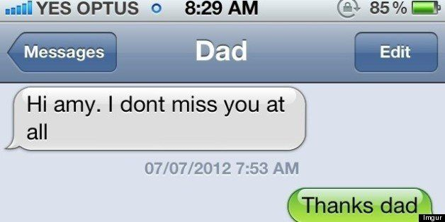 13 funny dad texts to celebrate fathers day pictures huffpost 13 funny dad texts to celebrate fathers day pictures m4hsunfo
