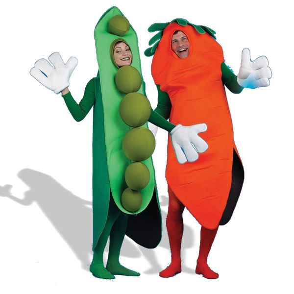 The good news is, if this is your costume of choice, you and your significant other probably weren't invited to a party.