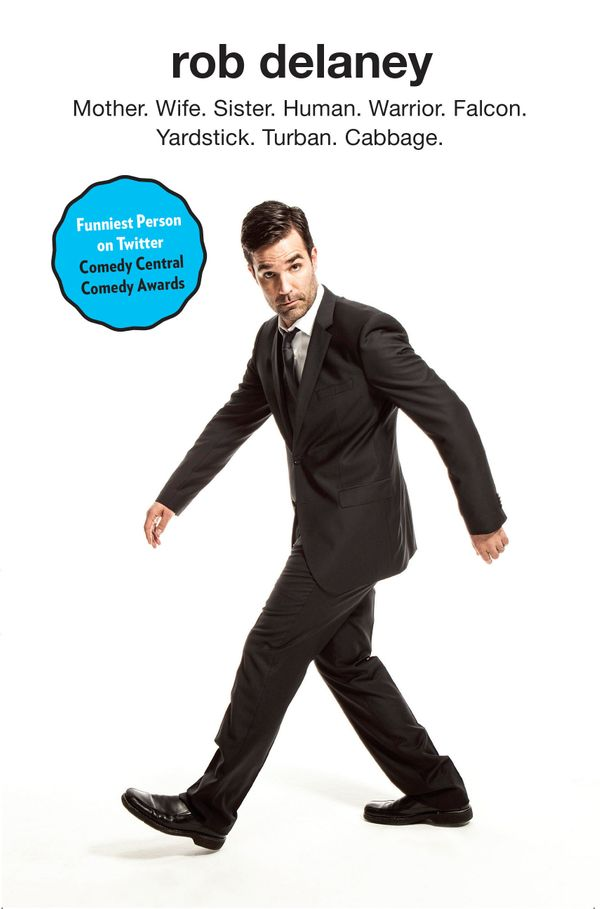 """If you love him on Twitter or on stage, you'll love him on paper, too.<a href=""""http://www.amazon.com/Rob-Delaney-Warrior-Yard"""