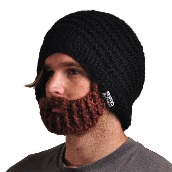 """The perfect winter accessory for your friends with beard envy. <a href=""""http://fab.com/product/beardo-original-black-37286/?r"""