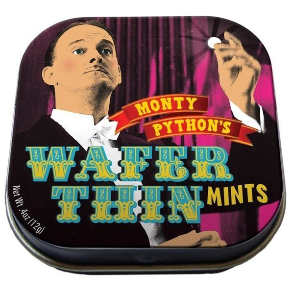 """These wafer thin mints make a great stocking stuffer for anyone who knows who Mr. Creosote is. <a href=""""http://www.neatoshop."""