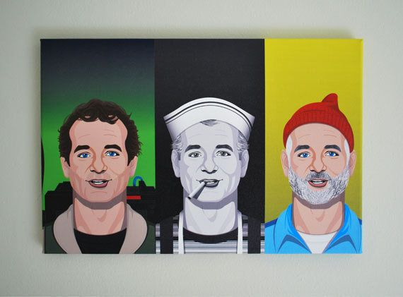 Whether he's a busting ghosts, running Team Zissou or drinking coffee and smoking cigarettes, everyone loves Bill Murray. <a