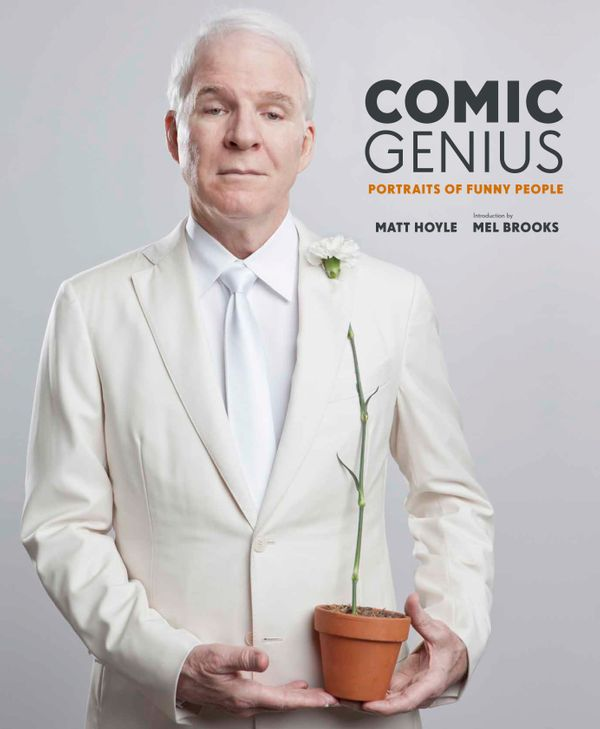 """A collection of clever and stunning comedian portraits by photographer Matt Hoyle. <a href=""""http://www.amazon.com/Comic-Geniu"""