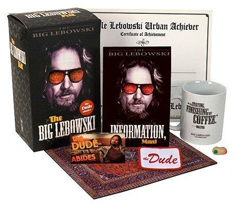 """The dude definitely abides by this awesome collection of memorabilia plus a DVD. <a href=""""http://www.target.com/p/the-big-leb"""