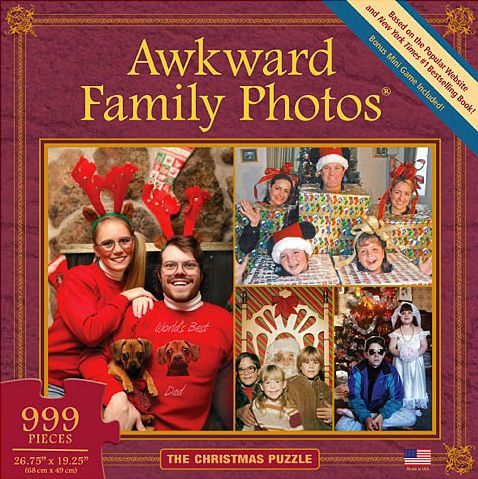 """Give your own awkward family something fun to do together over the holidays. <a href=""""http://www.uncommongoods.com/product/aw"""